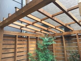 小屋 屋根 垂木