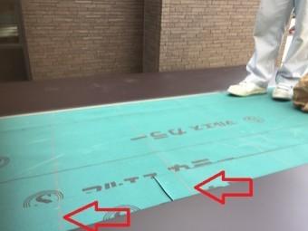 屋根葺き 墨付け