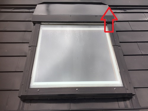 天窓 トップライト 雨水浸入