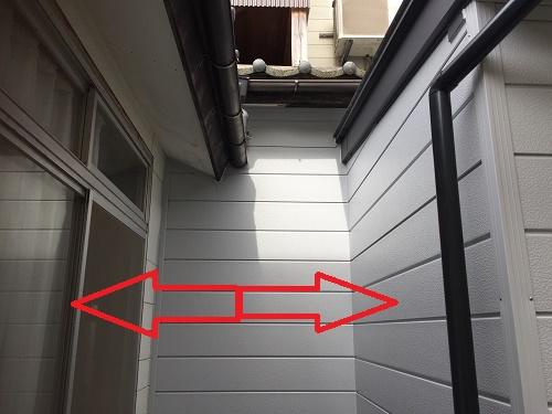 屋根造作 物干しスペース