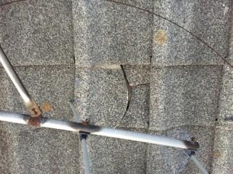 セメント瓦 かわら 割れ 雨漏れ