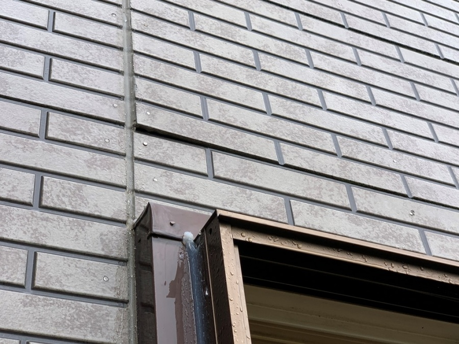 外壁雨漏れ修繕工事