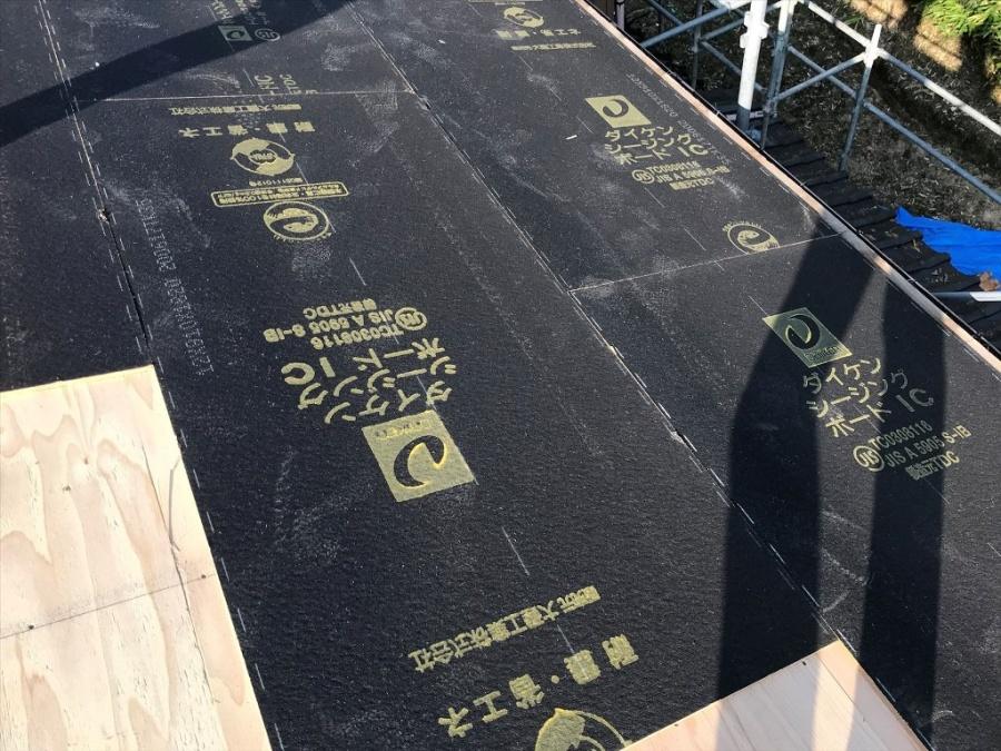 新潟市秋葉区葺き替え工事