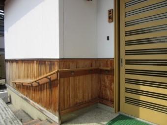 外壁腰板張り 塗装工事