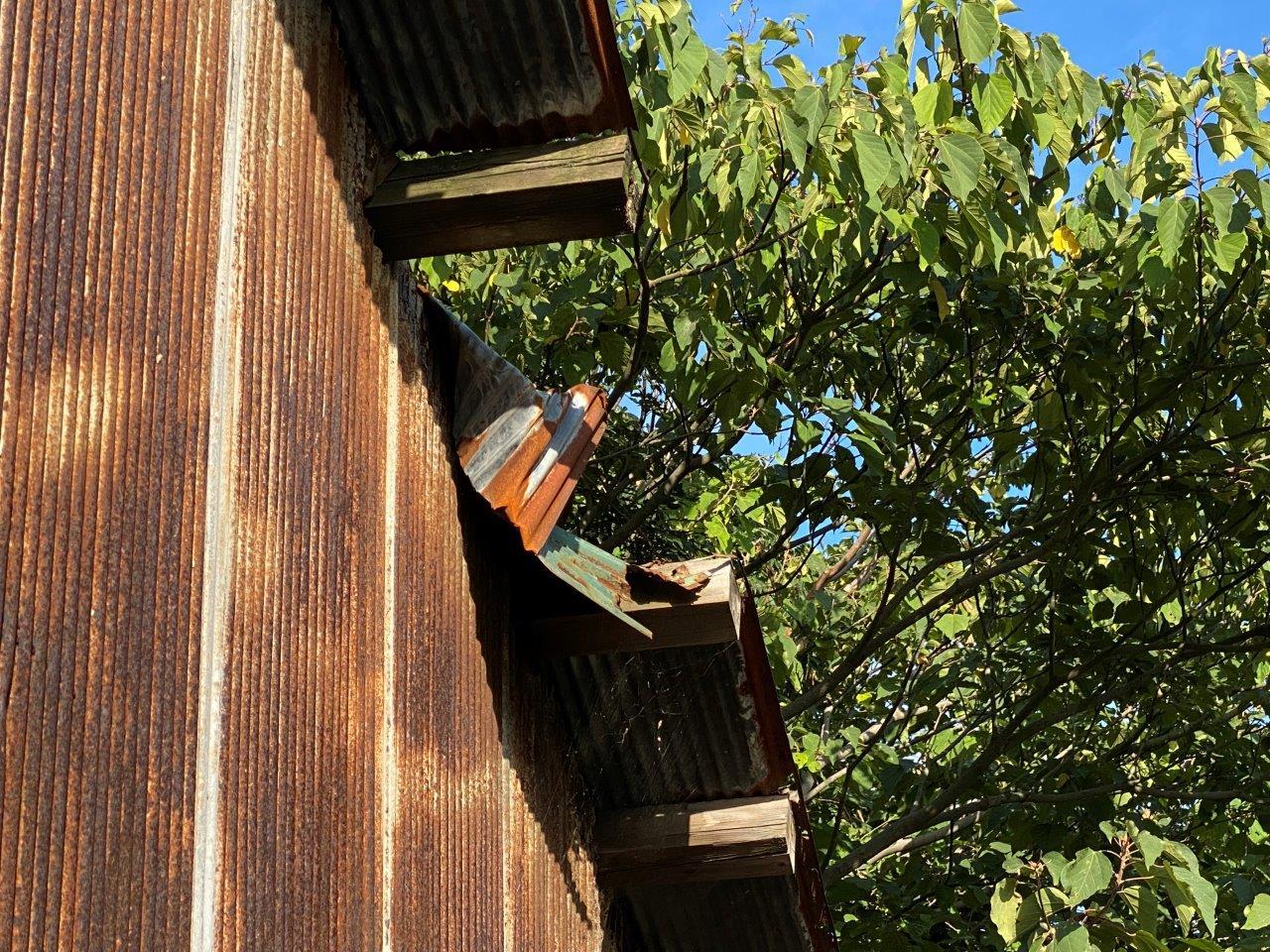 倉庫屋根・外壁修繕工事