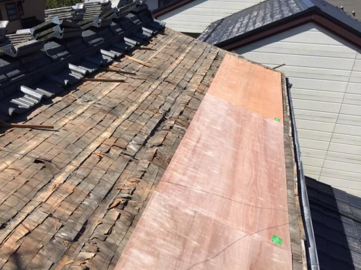 屋根雨漏り修繕工事