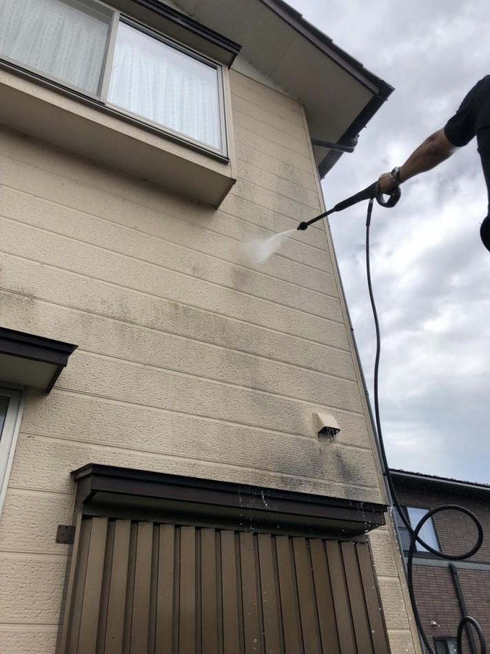 外壁汚れ除去