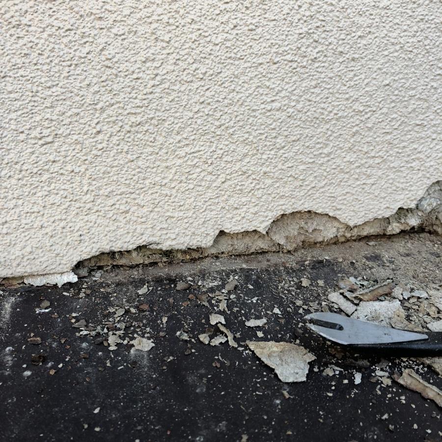 新潟市西区 外壁の痛み