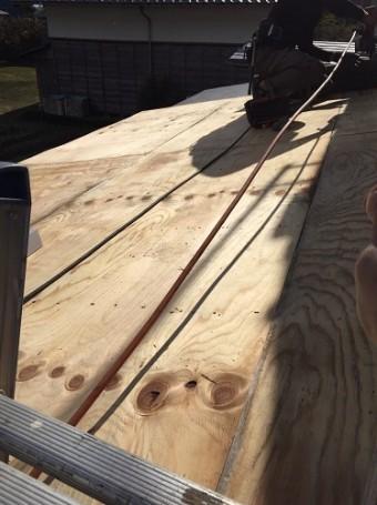 下地造作 構造用合板