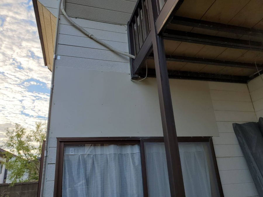 新潟市西区 K様 外壁上張り修繕工事 竣工