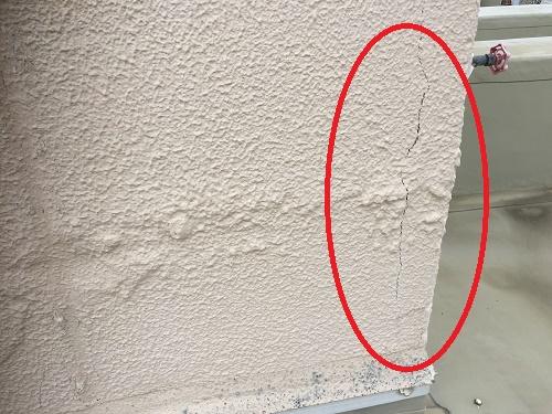 外壁 亀裂 雨漏り