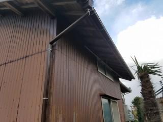 新潟市秋葉区 雨樋修理