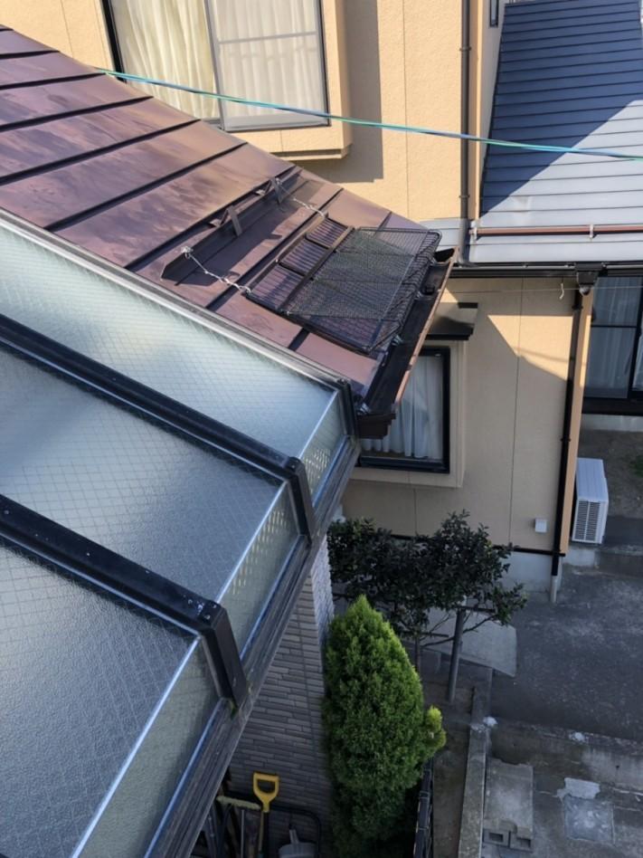 新潟市西蒲区にてスノーメルトフェンス設置工事