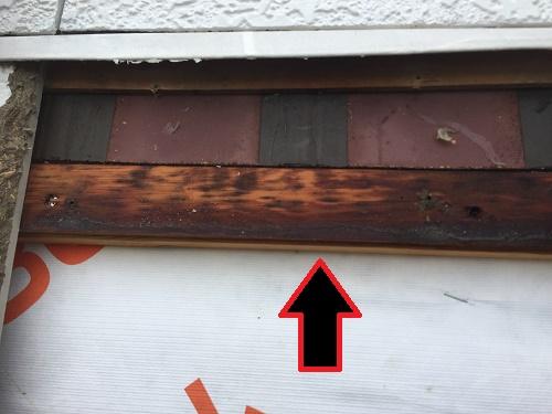外壁 胴縁 濡れ 調査