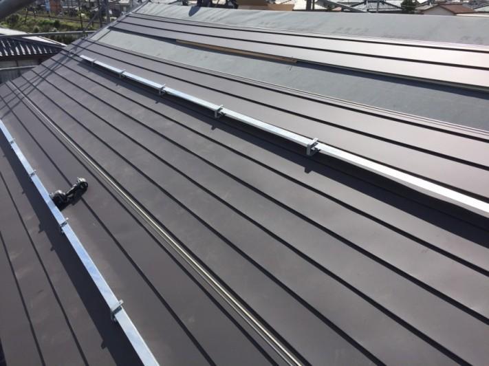 瓦屋根から板金屋根の葺き替え工事の流れ