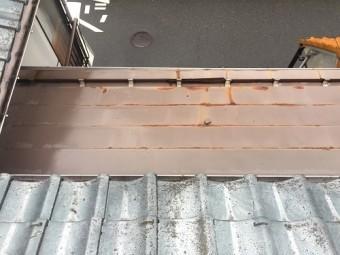 板金屋根 横葺 錆び 雨漏れ