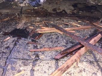 瓦の下 瓦桟腐食 モニエル 雨漏り