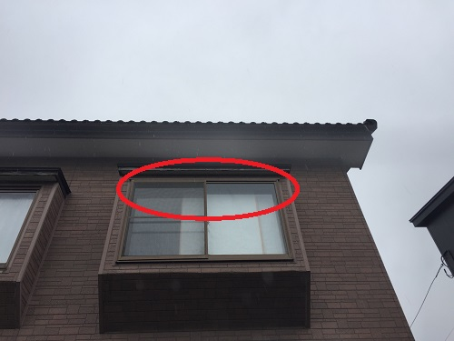 雨漏り 雨漏れ 天井 出窓