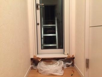 室内 壁解体 雨漏り 雨漏れ