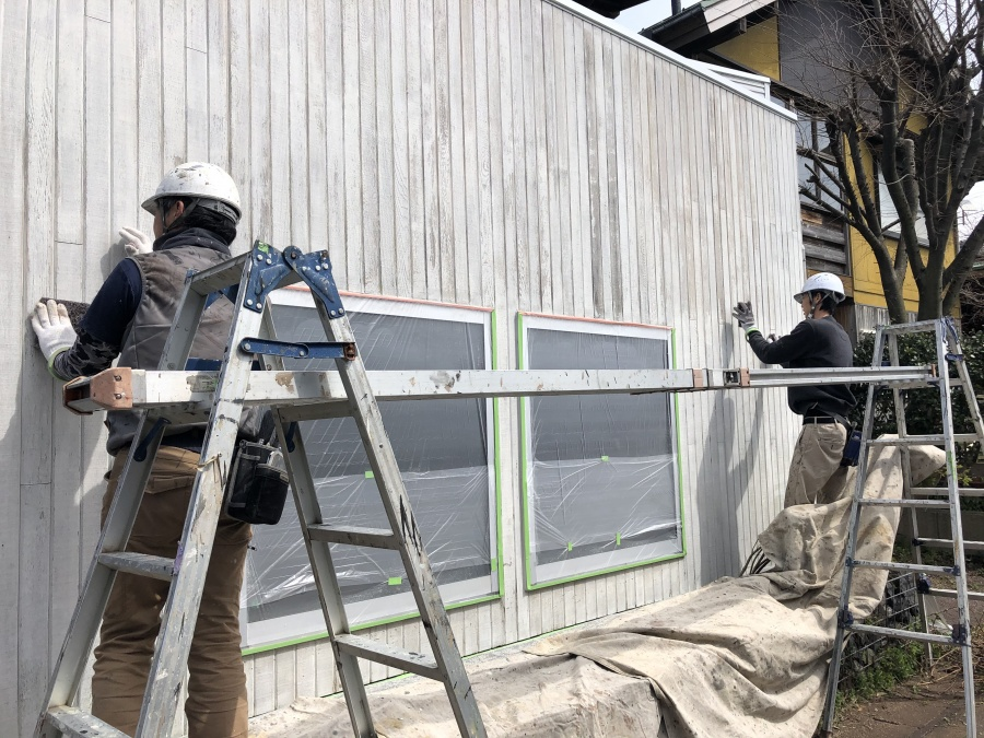 社屋の外壁塗装