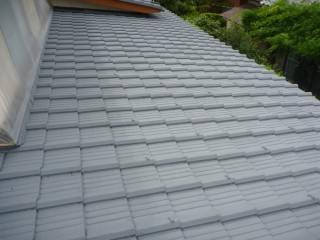 瓦屋根 再塗装
