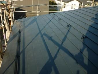 屋根葺き替え 雪止アングル設置