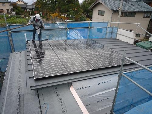 太陽光発電 ソーラーパネル設置