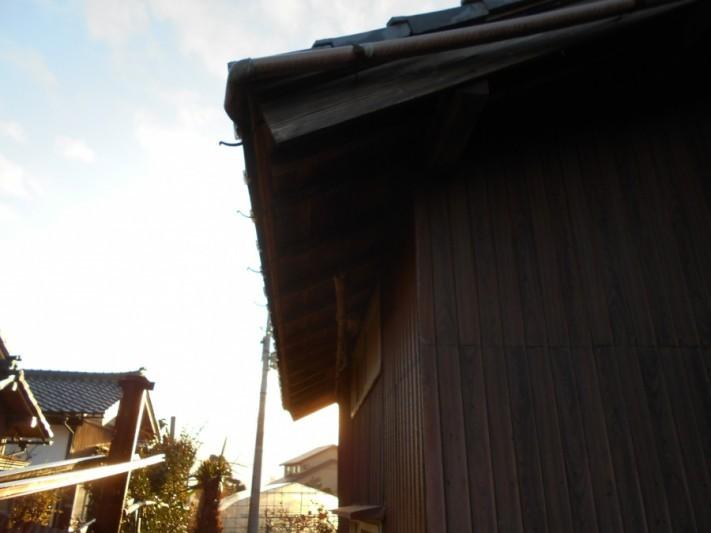 新潟市秋葉区雨樋修理