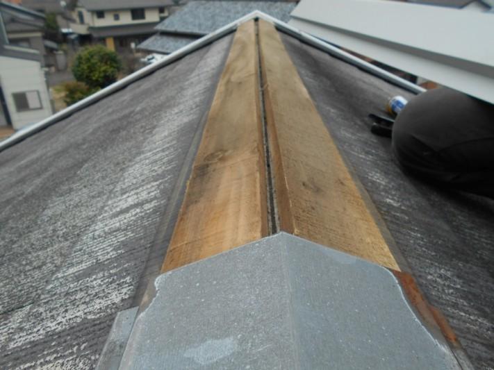 新潟市東区S様アパート棟板金修繕工事