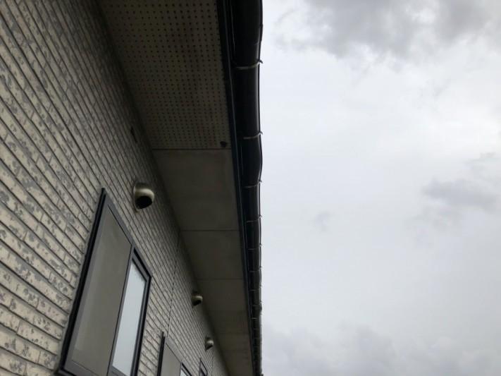 新潟市西蒲区 破風鼻隠し板金巻き工事