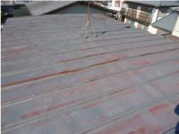 トタン屋根の塗装:施工前