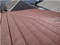 トタン屋根の屋根カバー工法:施工前